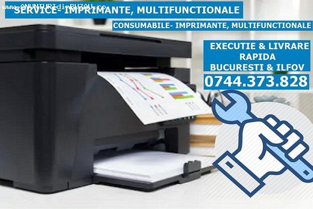 Reparatii imprimante la sediul soc. dvs.  in Bucuresti si Il